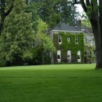 North Lawn Towards House